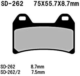 ベスラ(Vesrah) HighPerformance ブレーキパッド SD-262 送料無料
