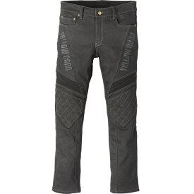 (特典A付) イエローコーン YRP-101 ストレッチデニムライディングパンツ ブラック/ブラック Protective Stretch Pants (2021春夏モデル) あす楽対応 送料無料
