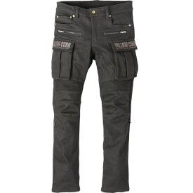 (特典A付) イエローコーン YRP-102 ストレッチデニムライディングパンツ ブラック Protective Stretch Pants (2021春夏モデル) あす楽対応 送料無料