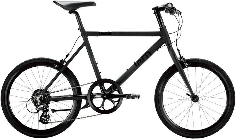 ミニベロ ターン クレスト (マットブラック) 2019 TERN CREST 小径自転車