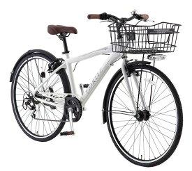 サカモトテクノ 700C コルテス 外装6段変速 オートライト (2color) SAKAMOTO TECHNO CORTEZ S-tech クロスバイク シティサイクル