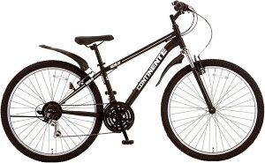 マウンテンバイク シオノ コンティネント 27.5 外装18段 (フラットブラック) 2021 SHIONO CONTINENTE 2718 塩野自転車 MTB