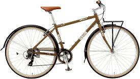 ジオス イソラ (ブラウン) 2020 GIOS ESOLA シティサイクル クロスバイク