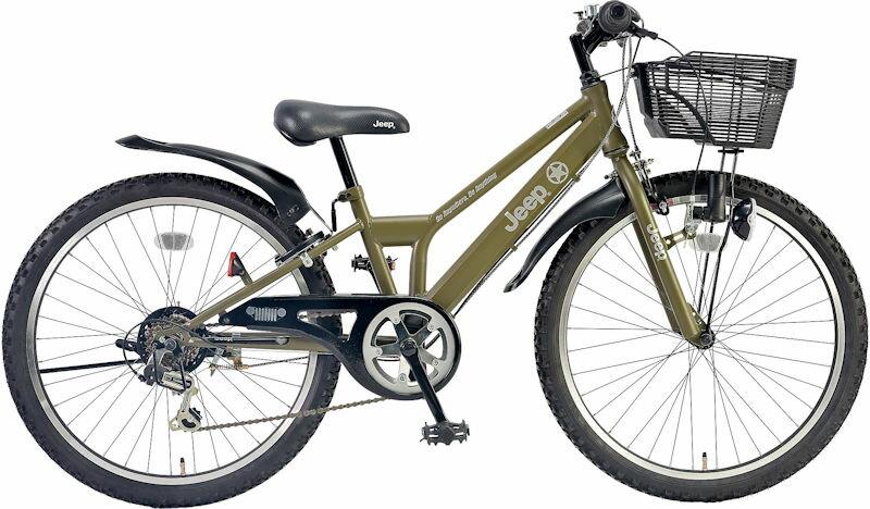 子供用自転車 JEEP JE-24S (オリーブ) ジープ JE 24 S CTB