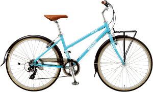 ジオス リーベ (パールブルー) 2021 GIOS LIEBE シティサイクル クロスバイク