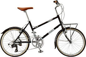 ジオス プルミーノ (ブラック) 2020 GIOS PULMINO ミニベロ 小径自転車