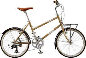ジオス プルミーノ (ブラウン) 2020 GIOS PULMINO ミニベロ 小径自転車