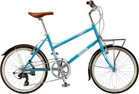 ジオス プルミーノ (パールブルー) 2020 GIOS PULMINO ミニベロ 小径自転車