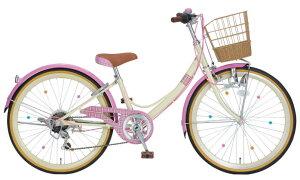 子供用自転車 サギサカ ショコラ キュート 226 (ピンク) 0049 SAGISAKA Chocolat Cute シティサイクル