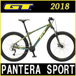 マウンテンバイクGTPANTERASPORT(ダークグリーン)2018ジーティーパンテラスポーツ