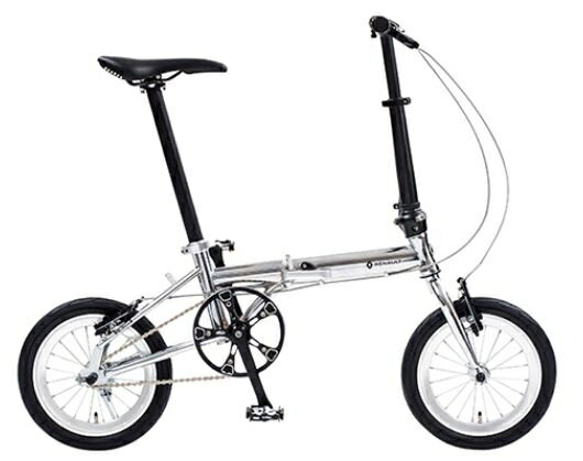 送料無料 折り畳み自転車 RENAULT Cr-Mo LIGHT8 14インチ コンパクト折りたたみバイク CP(Cr-Mo FDB140) ルノー
