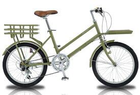WACHSEN WBG-2002 ROKE / ヴァクセン 20インチ カーゴバイク 6段変速 ROKE【送料無料・メーカー直送・代引不可】