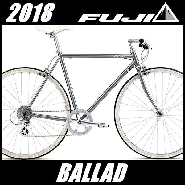 クロスバイク フジ バラッド (ダークグレー) 2018 FUJI BALLAD