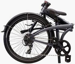 折りたたみ自転車ターンノードC8(ガンメタル/グレー)2018TERNNODEC8フォールディングバイク24インチ