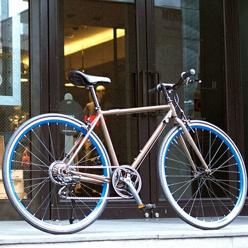 OSSO (オッソ)R310-CR-BR クロスバイク ストリートバイク (ブラウン)  520mm