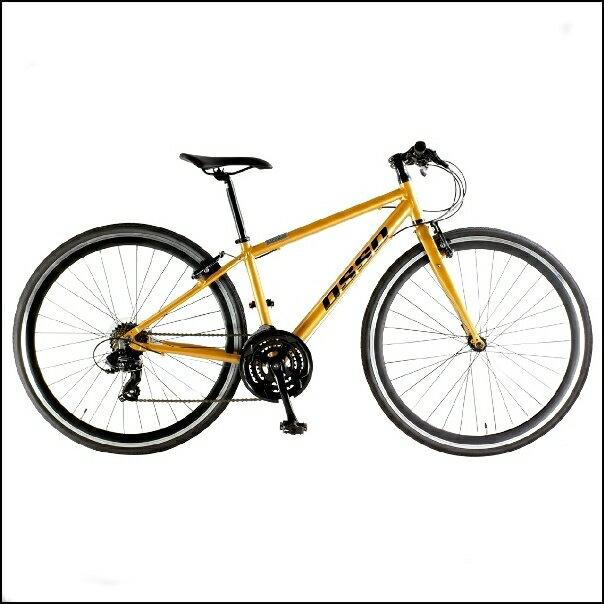 OSSO (オッソ)V330-AL アルミ クロスバイク (オレンジ) 380mm