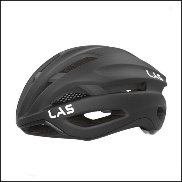 LAS VIRTUS サイクリング ヘルメット (マットブラック) ラス 自転車