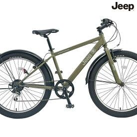 マウンテンバイク JEEP JE-266FT (オリーブ) ジープ JE 266 FT ファットバイク