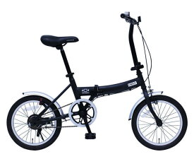 ミムゴ シボレー FDB160G (ブラック)折り畳み自転車 CHEVROLET FDB16G (MG-CV16G) フォールディングバイク 365 【送料無料・メーカー直送・代引き不可】