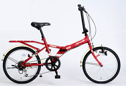 折りたたみ自転車 コールマン FDB206 ユース (マットレッド) 3293 Coleman FDB 206 YOUTH フォールディングバイク サギサカ SAGISAKA