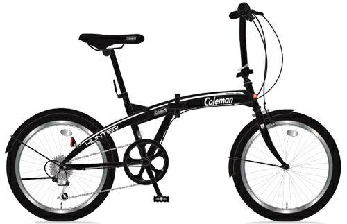 折りたたみ自転車 コールマン FDB206 ハンター (マットブラック) 3297 Coleman FDB 206 HUNTER フォールディングバイク サギサカ SAGISAKA