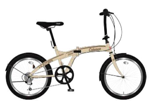 折りたたみ自転車 コールマン FDB206 ハンター (マットモカ) 3299 Coleman FDB 206 HUNTER フォールディングバイク サギサカ SAGISAKA