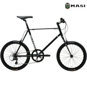 ミニベロ MASI MINI VELO UNO RISER (ブラック) 2020 マジィ ミニベロ ウノ ライザー 小径自転車