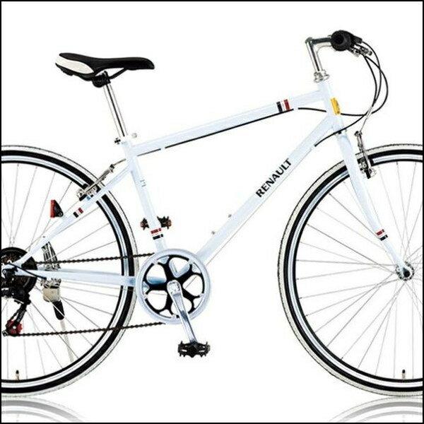 クロスバイク RENAULT CRB7006S ホワイト /31100 / ルノー700C 02P03Dec16