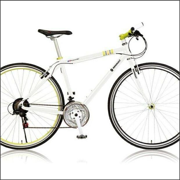 クロスバイク RENAULT AL CRB7021 E 700C ALクロスバイク(33841)ホワイト ルノー