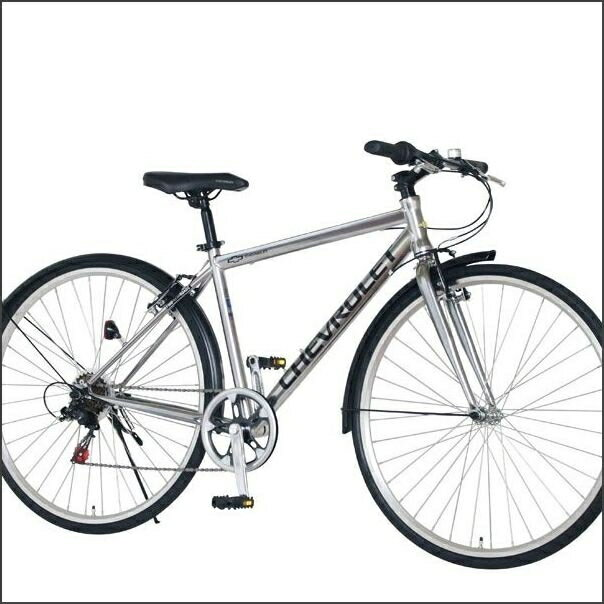 クロスバイク CHEVY METAL CRB7006 (33982) シルバー シボレー