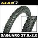 GEAX SAGUARO 27.5x2.0 MTBタイヤ ジアックス サグアロ クリンチャー/ワイヤービード 02P03Dec16