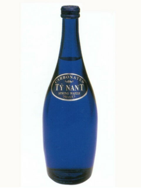 ティナント(TY NANT) カーボネイト 発泡炭酸水 グラス(ビン) 1ケース(750ml×12本) [硬度102.3/中硬水/イギリス産]