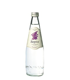 スルジーヴァ(SURGIVA)フリザンテ 発泡炭酸水 グラス(ビン) 1ケース(500ml×20本) [硬度20.1/超軟水/イタリア産]
