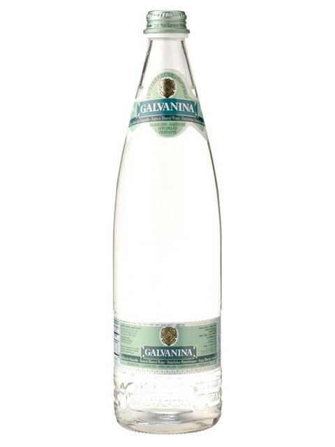 ガルヴァニーナ(GALVANINA) フリザンテ 発泡炭酸水 グラス(ビン) 1ケース(750ml×12本) [硬度420.0/硬水/イタリア産]