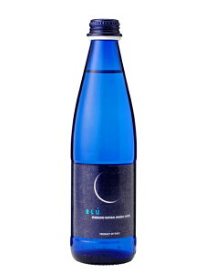 ガルヴァニーナブルー(GALVANINA BLU) フリザンテ 発泡炭酸水 グラス(ビン) 1ケース(355ml×24本) [硬度420.0/硬水/イタリア産]