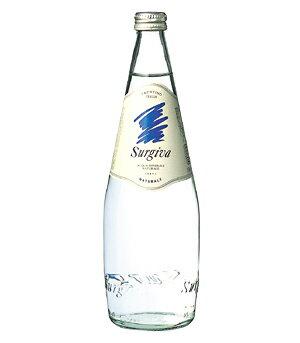 スルジーヴァ(SURGIVA)ナチュラーレ 無炭酸水 グラス(ビン) 1ケース(750ml×12本) [硬度20.1/超軟水/イタリア産]