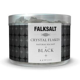 地中海クリスタルフレークソルトブラック125g ピラミッドの型をした結晶が美しい海水塩