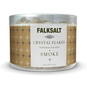 地中海クリスタルフレークソルトスモーク125g ピラミッドの型をした結晶が美しい海水塩