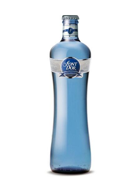 フォンドール(FONT D' OR) 無炭酸水 グラス(ビン) 1ケース(500ml×20本) [硬度79.0/軟水/スペイン産]