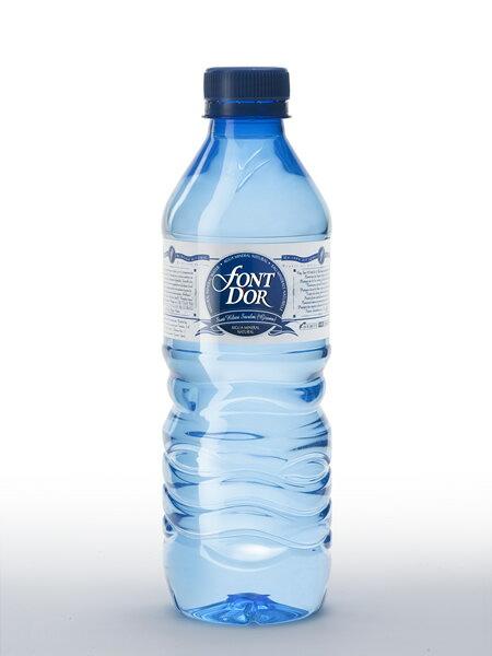 フォンドール(FONT D' OR) 無炭酸水 ペットボトル(PET) 1ケース(500ml×24本) [硬度79.0/軟水/スペイン産]