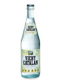 ヴィッチーカタラン(VICHY CATALAN) 天然発砲炭酸水 グラス(ビン) 1ケース(500ml×20本) [硬度82.0/軟水/スペイン産]