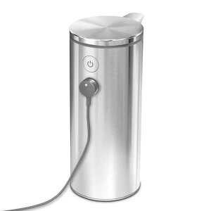 【正規品】【正規販売店】simplehumanシンプルシューマン充電式センサーポンプブラッシュシルバーST1043yz-164
