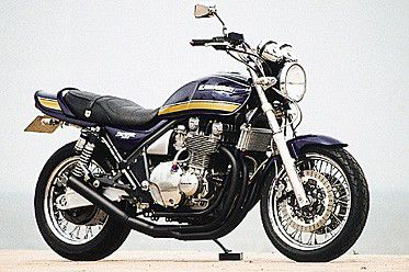 【セール特価】M-TEC中京(MRS) ZEPHER(ゼファー)1100/RS (K17) 旧バージョン ショート管