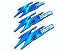 JOG ZR EVOLUTION ジョグZR エボリューション 純正タイプ 立体エンブレム3点 ブルー