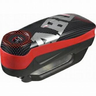 【セール特価】【ABUS[アバス アブス]】 アラームディスクロック Detecto 7000 RS 1 pixel red[Detecto 7000 RS1]【盗難防止 セキュリティ バイクセキュリティ オートバイセキュリティ】