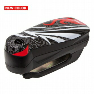 【セール特価】【ABUS[アバス アブス]】 アラームディスクロック Detecto 7000 RS 1 flame black[Detecto 7000 RS1]