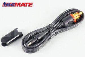 セール特価 オプティメイト4 デュアル用 ケーブルアクセサリー DINケーブル シガーDCケーブル SAE#9 電源ケーブル BMW/キャンバスシステム対応【tecMATE テックメイト】OPTIMATE4 Dual【お買い物マラ