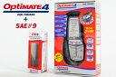 【送料無料】【tecMATE[テックメート]】 バッテリーチャージャー OPTIMATE4 Dual オプティメイト4 デュアル & SAE#9 シガーDCケー...