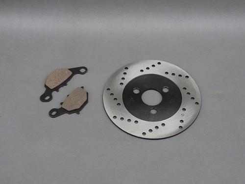 【保証付】【アドレスV125】【アドレスV100】【レッツ2S】純正タイプ ブレーキパッド + ブレーキディスクローター セット