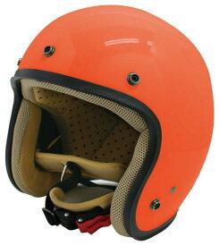 送料無料 【DAMMTRAX[ダムトラックス]】 JET-D ジェットディー オレンジ メンズ 男性用 バイク用 ヘルメット キャッシュレス5%還元